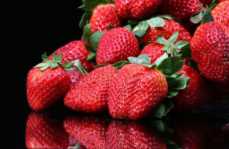 Download Strawberries stock image. Image of vivid, flora, garden - 85993