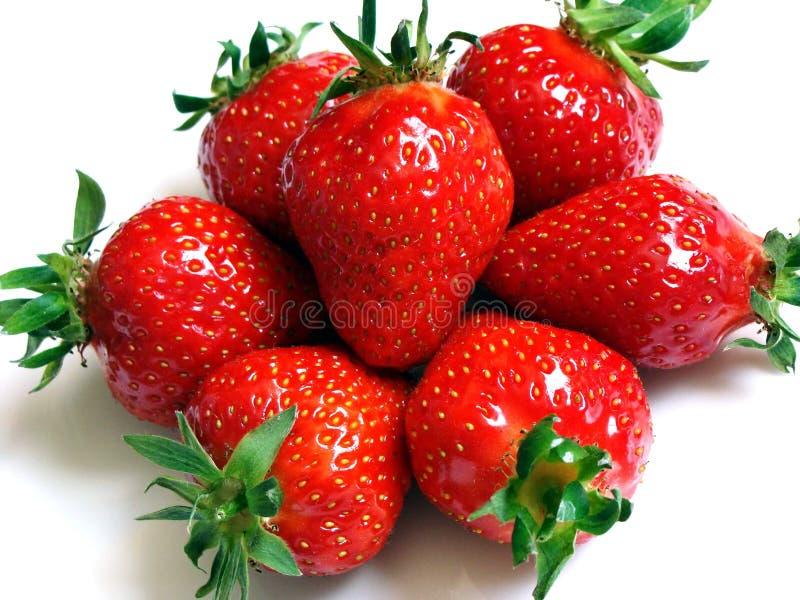 Strawberries1. Fresh, healthy, organically breeded strawberries stock photo