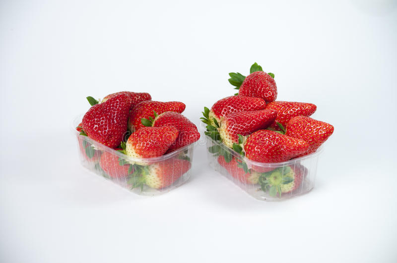Strawberries grouped. Stil life of organic strawberries grouped royalty free stock photography