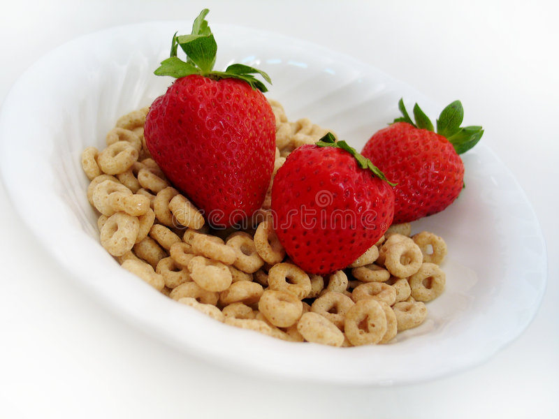 Download Strawberries and O's II stock photo. Image of sugar, strawberries - 6016
