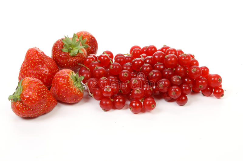 Download Strawberries And Redcurrant Berries Stock Photo - Image: 17800060