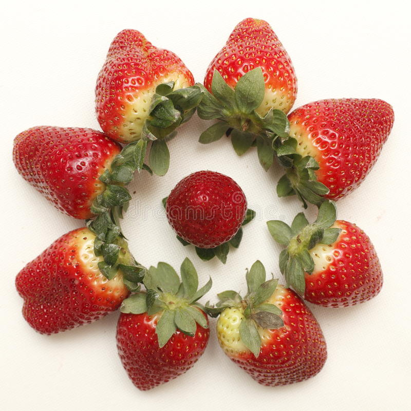 Strawberries from Spain stock photos