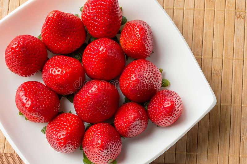 Strawberries of time royalty free stock photos