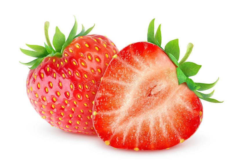 Download Strawberries stock image. Image of sliced, berry, horizontal - 33581529