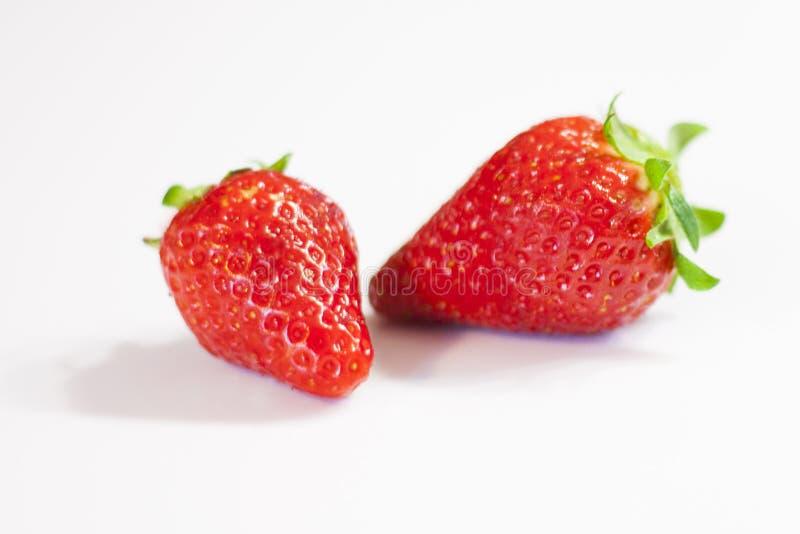 Strawberries vermelhos fotos de stock royalty free