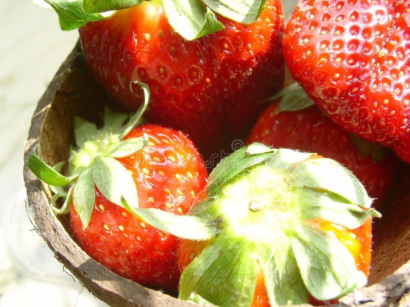 Download Strawberry stock photo. Image of resfreshing, nature, calorie - 109090