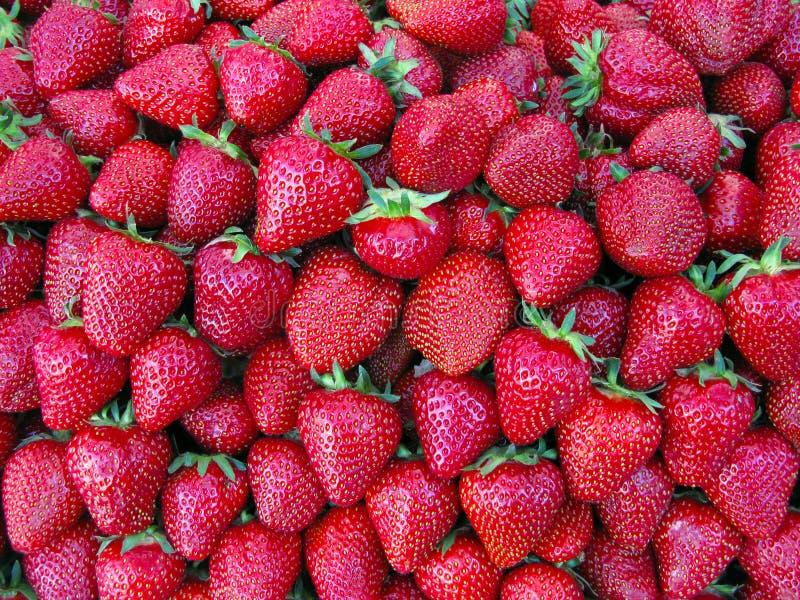 Strawberry. Plenty of strawberry on one Europe market