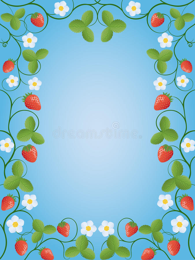 Download Strawberry stock vector. Image of strawberry, pattern - 13436019
