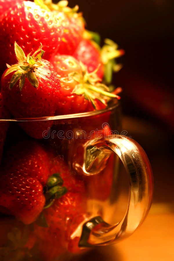 Strawberry. royalty free stock photography