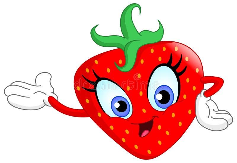 Strawberry royalty free illustration
