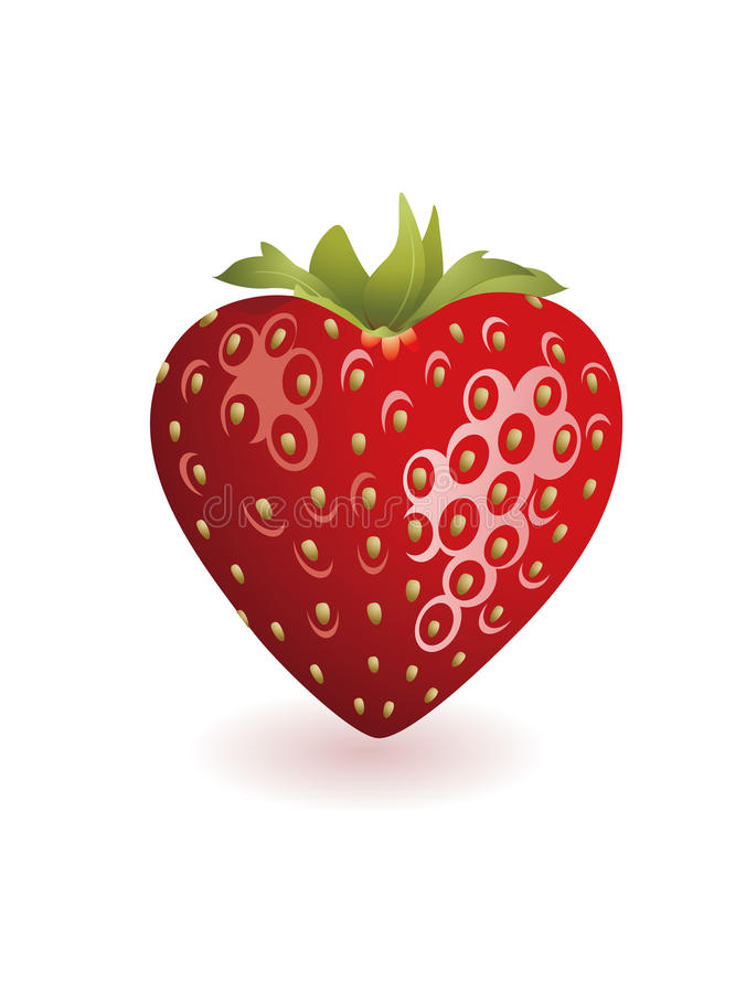 Download Strawberry stock illustration. Image of whipped, resoluton - 17660765