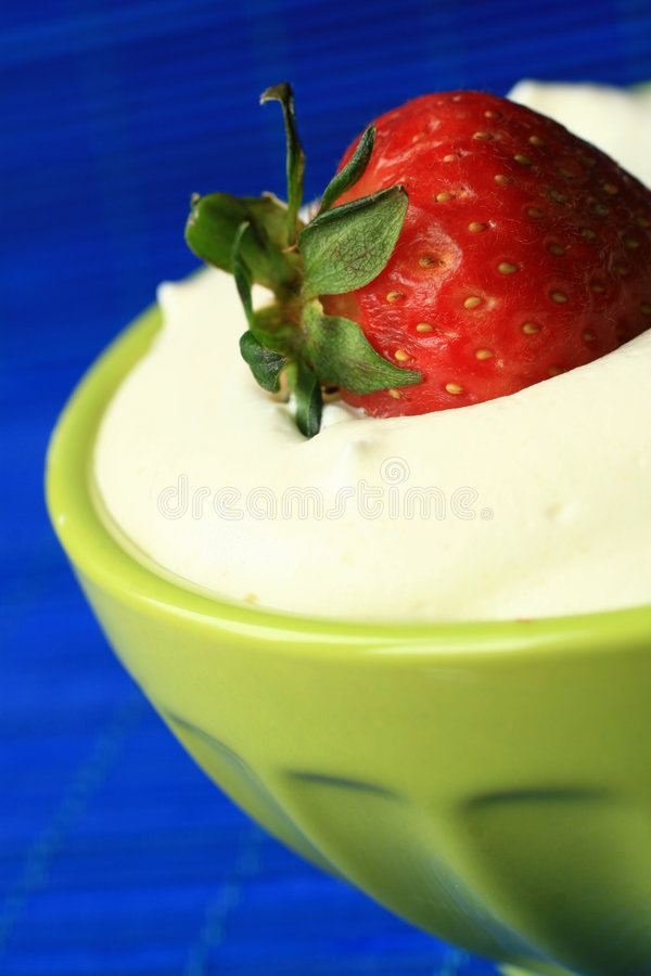 Download Strawberry stock photo. Image of fruit, cream, health - 2196612