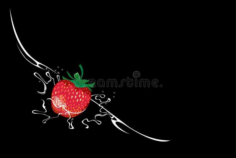 Download Strawberry stock vector. Image of drop, design, juicy - 23022254