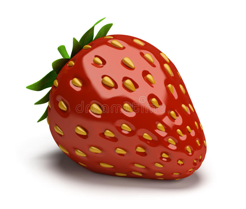 Download Strawberry stock illustration. Image of shiny, delicious - 25828282