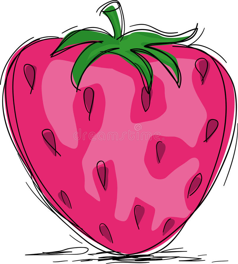 Download Strawberry stock vector. Image of useful, tasty, summer - 6010667