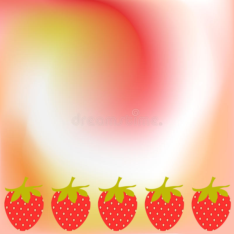 Free Strawberry Background Royalty Free Stock Photography - 13834117