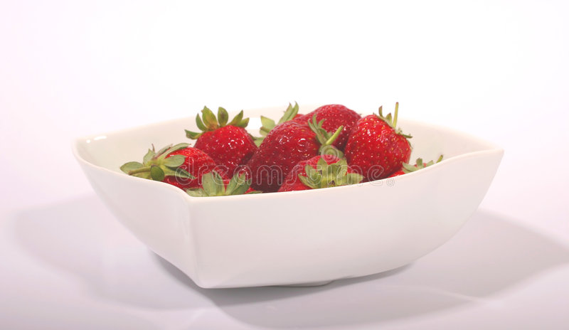 Strawberry Bowl #2 stock photography
