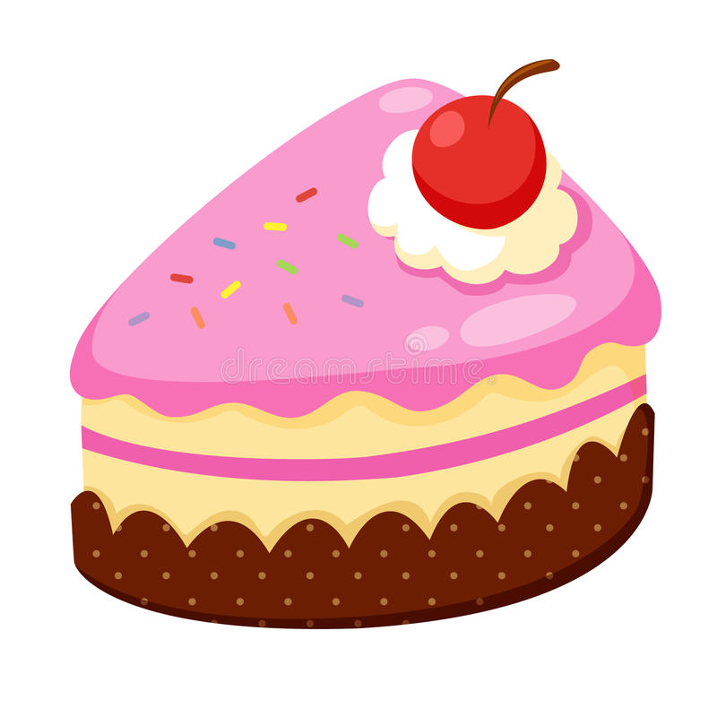 Free Strawberry Cake Royalty Free Stock Photos - 26185128