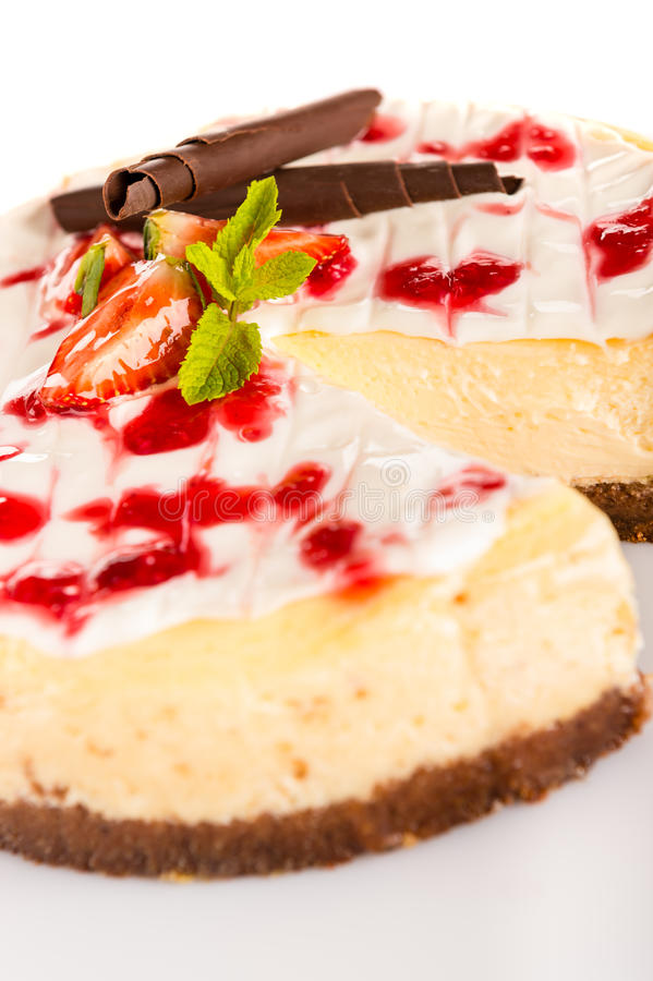 Download Strawberry Cheese Cake Fresh Dessert Creamy Delicious Stock Photo - Image of confectionery, photography: 29164596