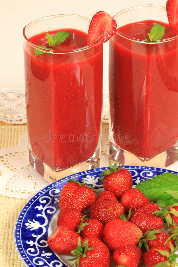 Download Strawberry cocktail stock photo. Image of sweet, dessert - 14854846