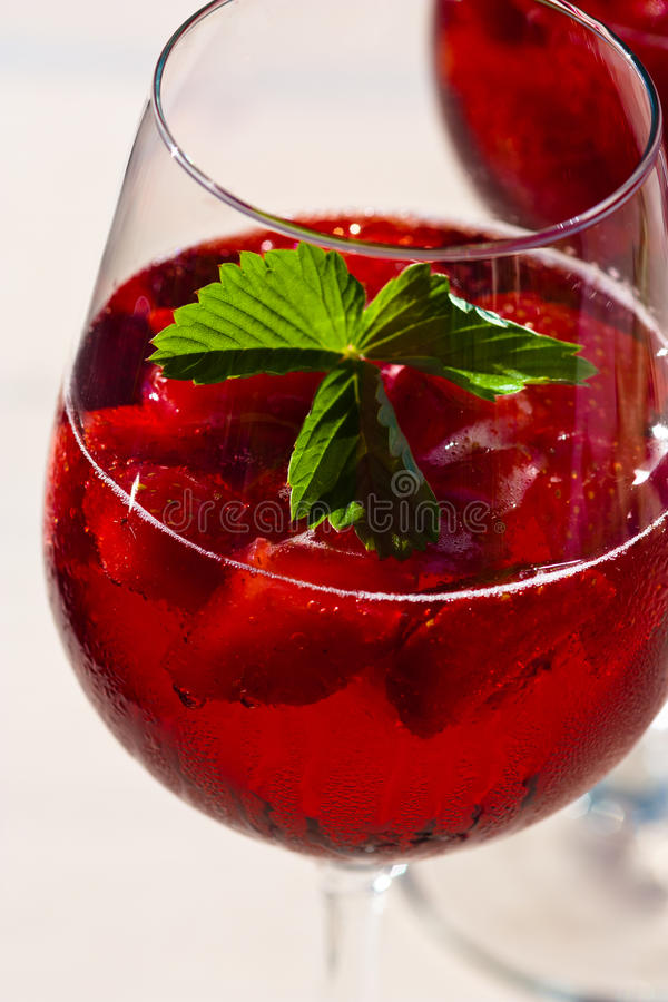Download Strawberry Cocktail stock image. Image of juicy, drinks - 25927285