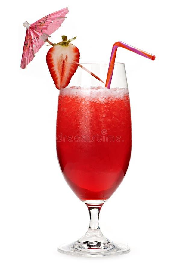 Strawberry daiquiri stock image