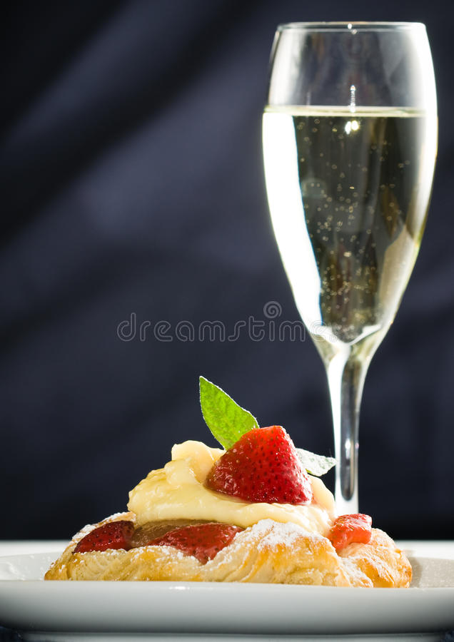 Free Strawberry Desert Stock Photography - 10823492