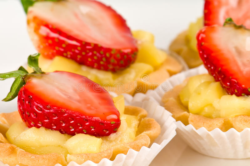 Strawberry Dessert royalty free stock photos