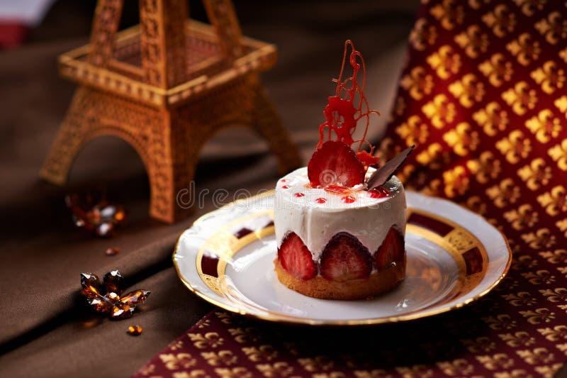 Strawberry Dessert stock image