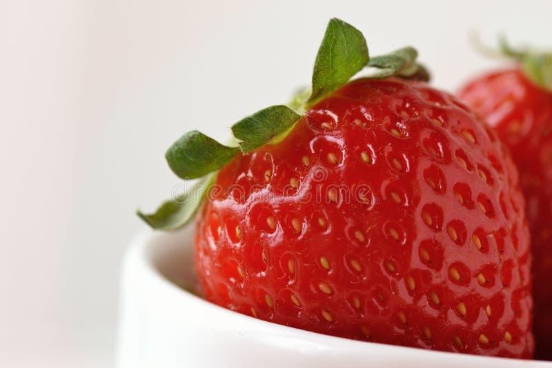 Strawberry detail stock photos