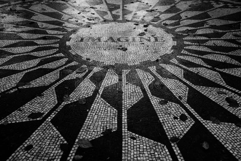 Strawberry Fields-Mosaik stockbild