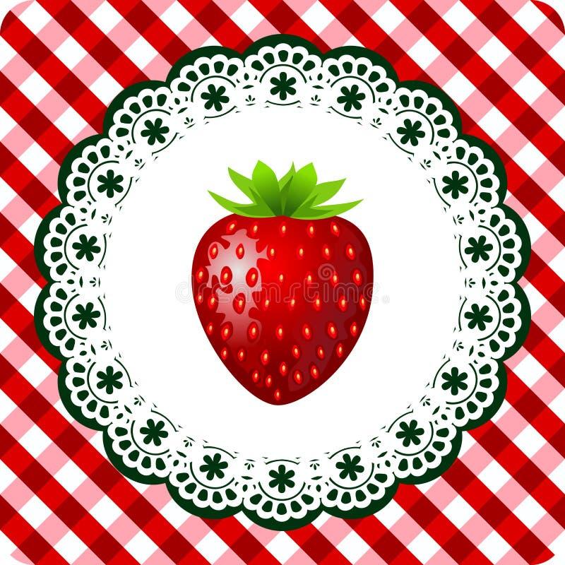 Download Strawberry frame stock vector. Image of fresh, garden - 20380864