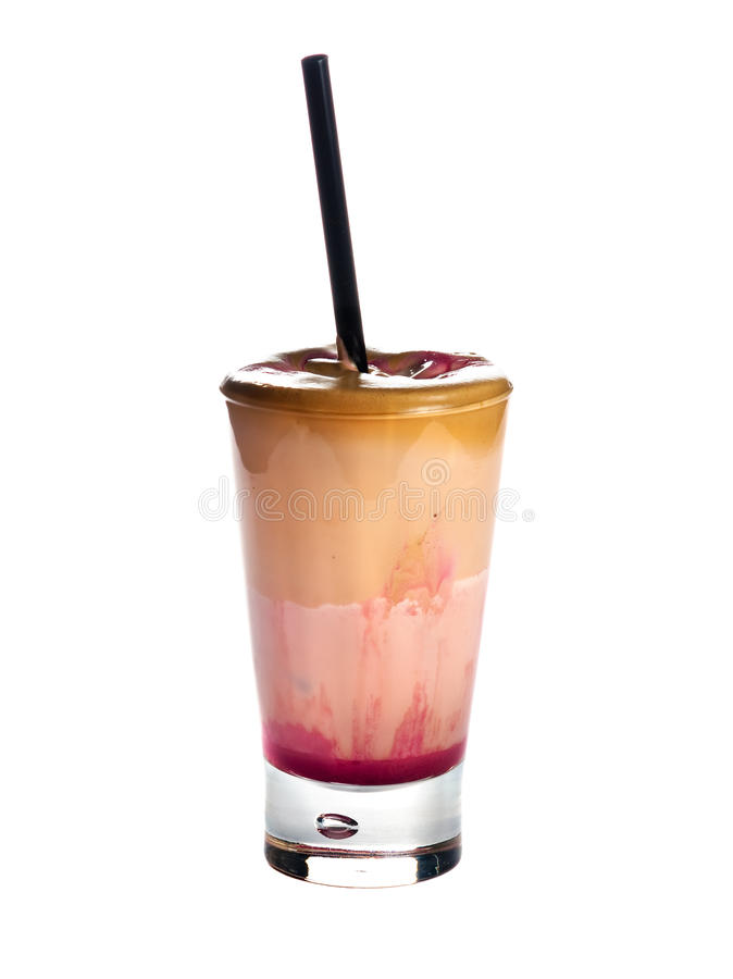 Download Strawberry Frappe stock photo. Image of juice, natural - 23868174