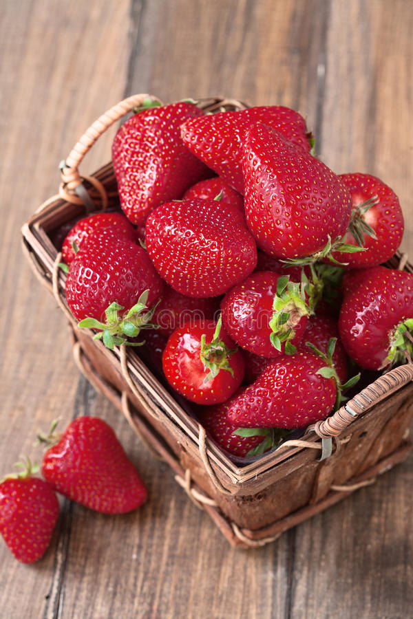 Download Strawberry stock image. Image of basket, farm, focus - 30711239