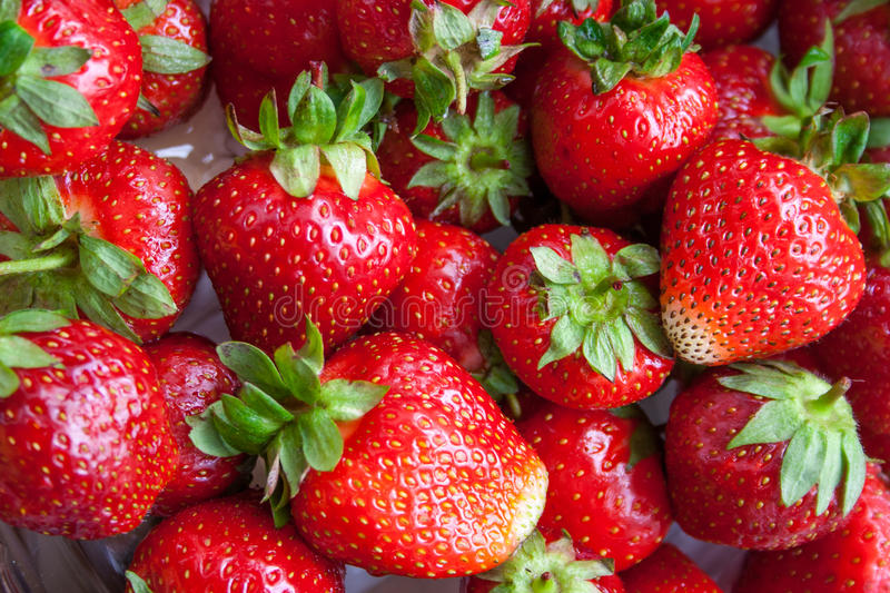 Strawberry. Fresh strawberries, colorful image background stock images