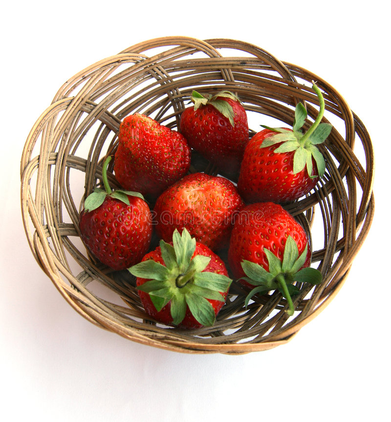 Free Strawberry In A Plate. Stock Images - 2708114