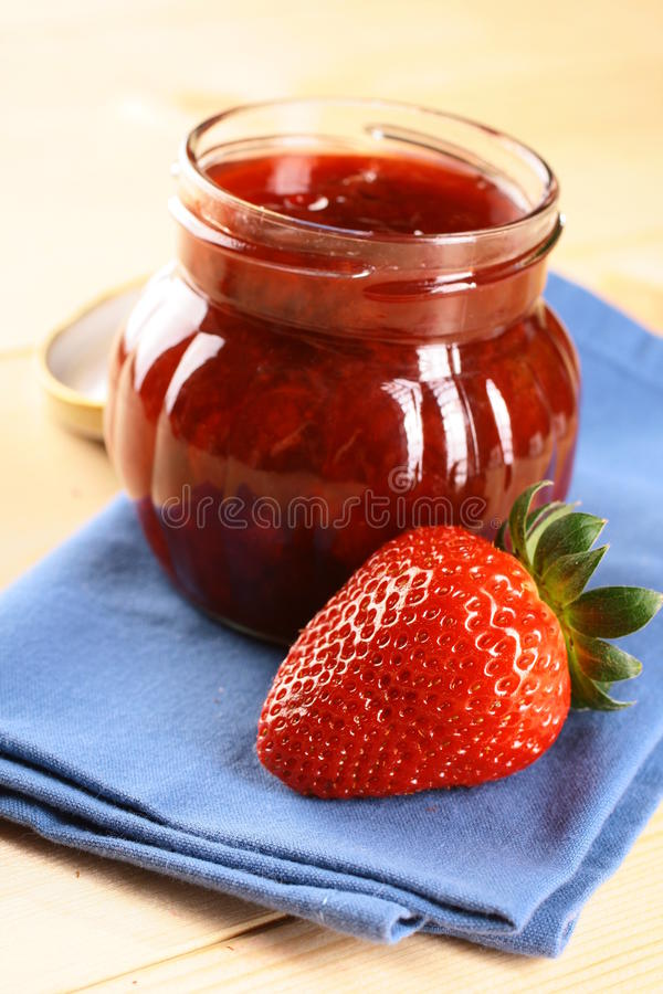 Download Strawberry Jam stock photo. Image of natural, jelly, ripe - 16409946