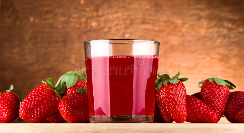Download Strawberry juice stock photo. Image of diet, closeup - 23026304