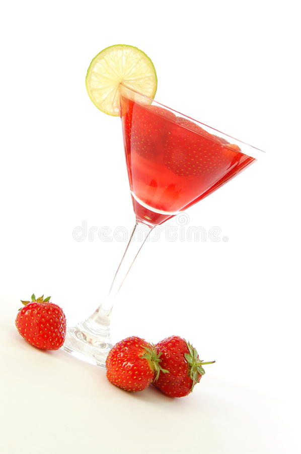 Download Strawberry Juice Or Cocktail Stock Image - Image of drink, cocktail: 11151939