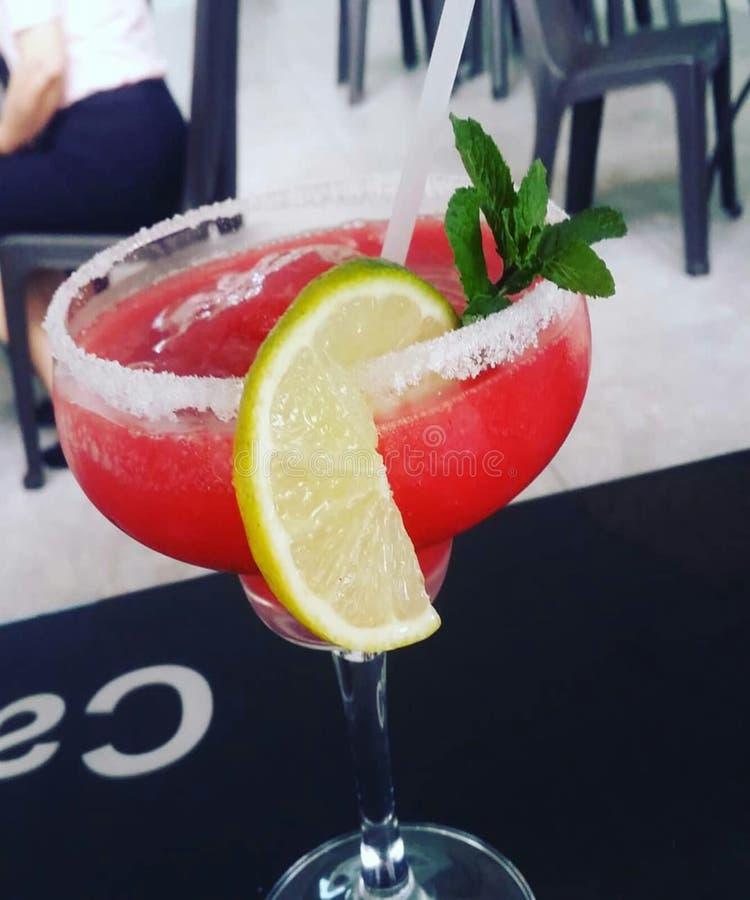 Strawberry Margarita. Margarita de fresa stock images