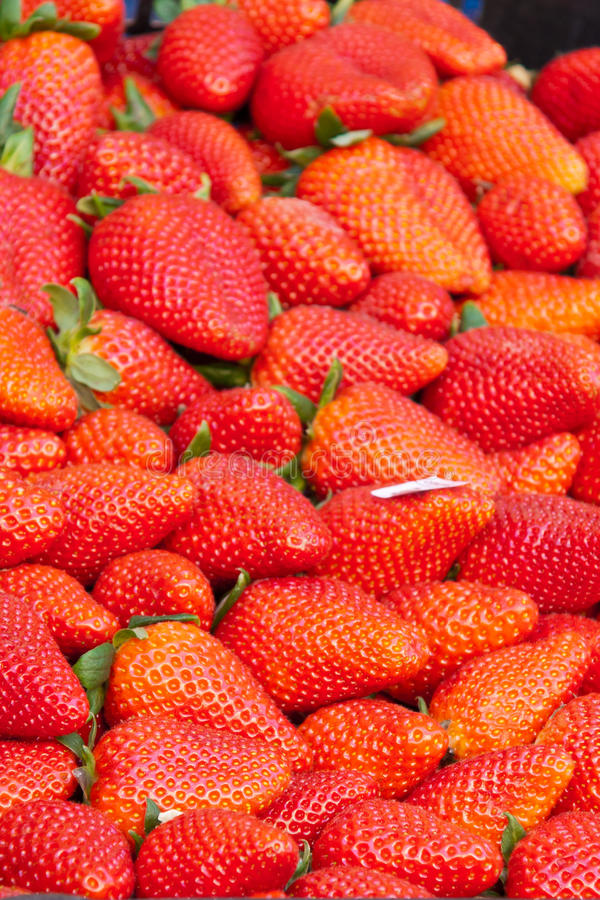 Download Strawberry in a market stock image. Image of healthy - 24473725