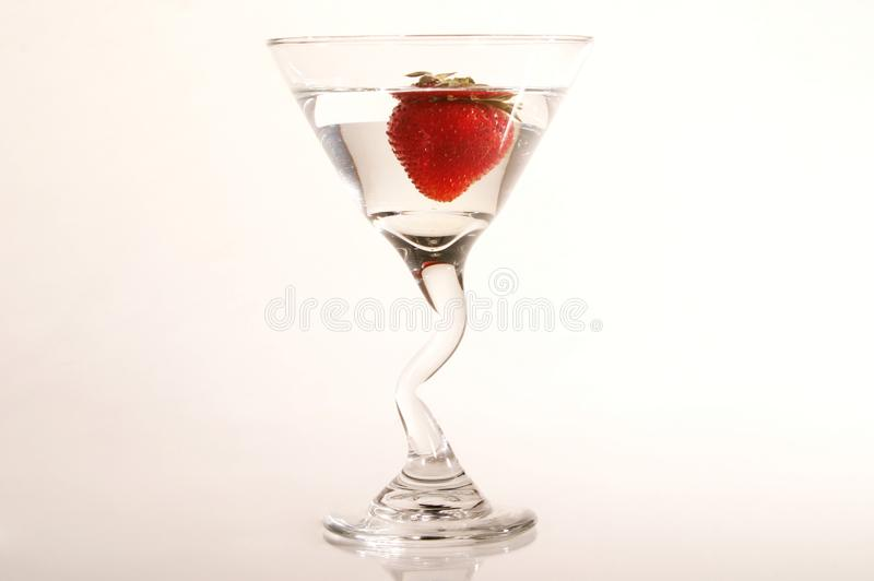 Strawberry Martini stock photos