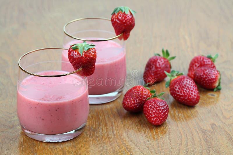 Download Strawberry milk shake stock photo. Image of pink, dieting - 18831930