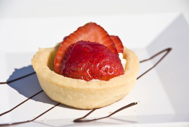 Strawberry Mini Tart royalty free stock photos