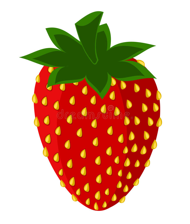 Download Strawberry picture stock vector. Illustration of emblem - 17778164