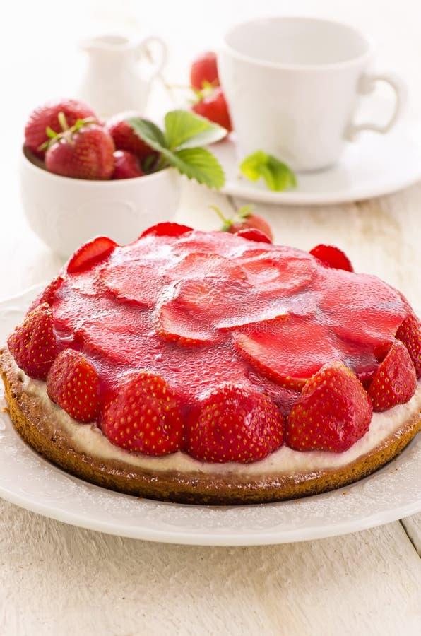 Strawberry Pie stock images