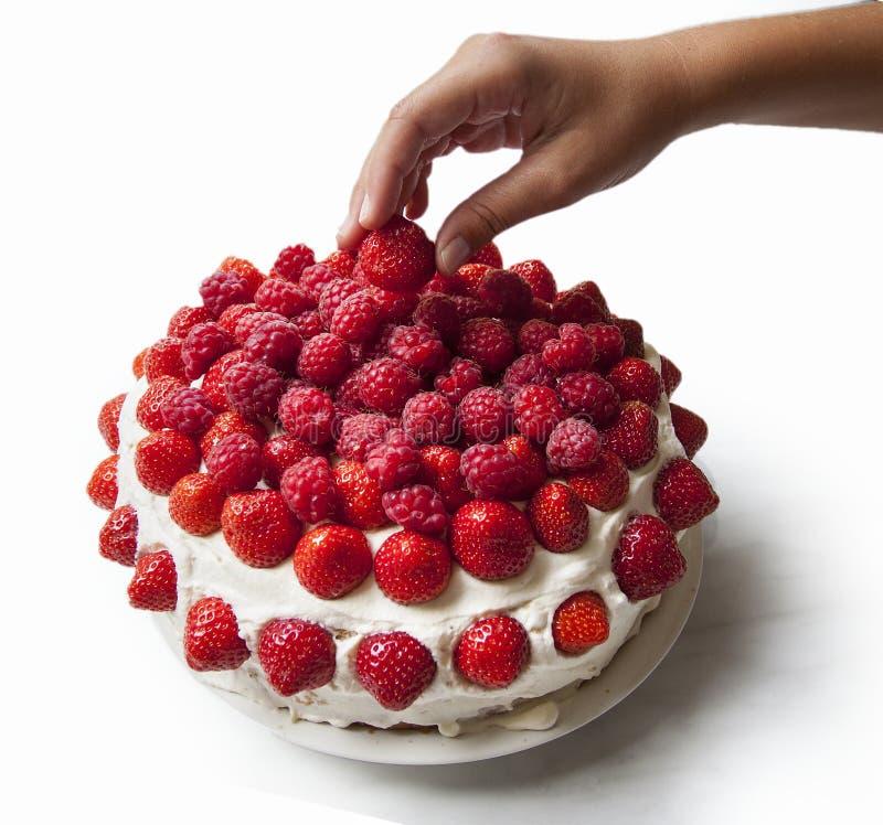 recipe: strawberry and raspberry cake [21]