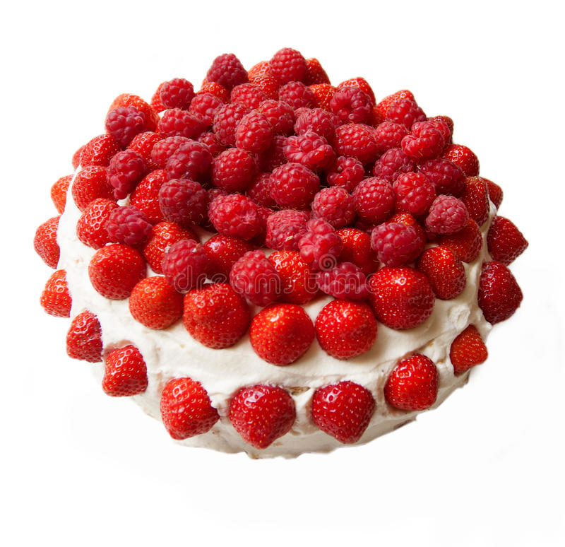 recipe: strawberry and raspberry cake [11]