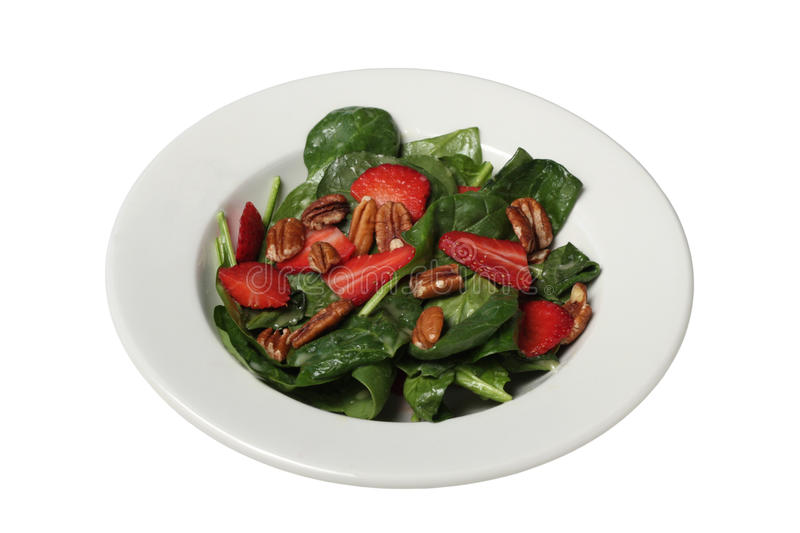 Strawberry salad royalty free stock images