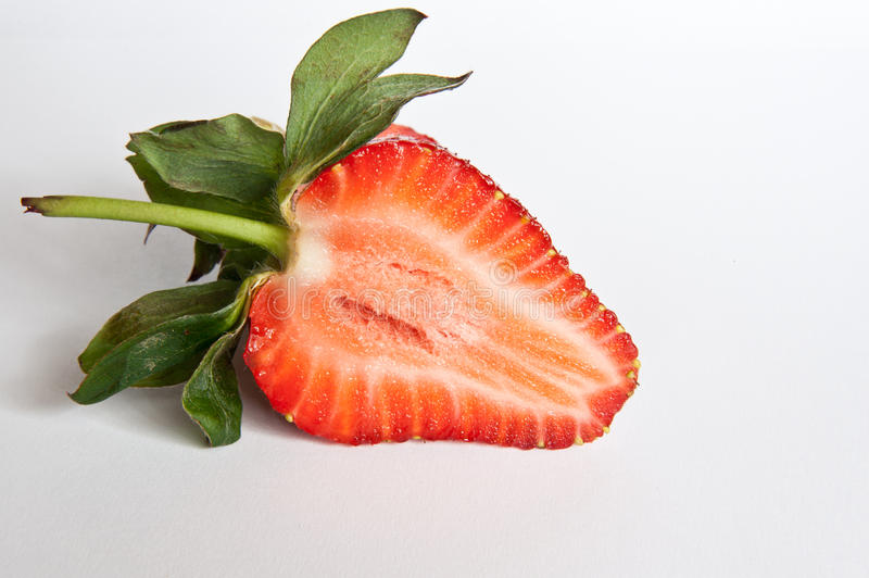 Download Strawberry Section Stock Photo - Image: 40368877